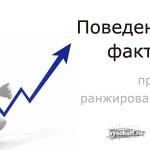 Поведенческие факторы ранжирования сайта