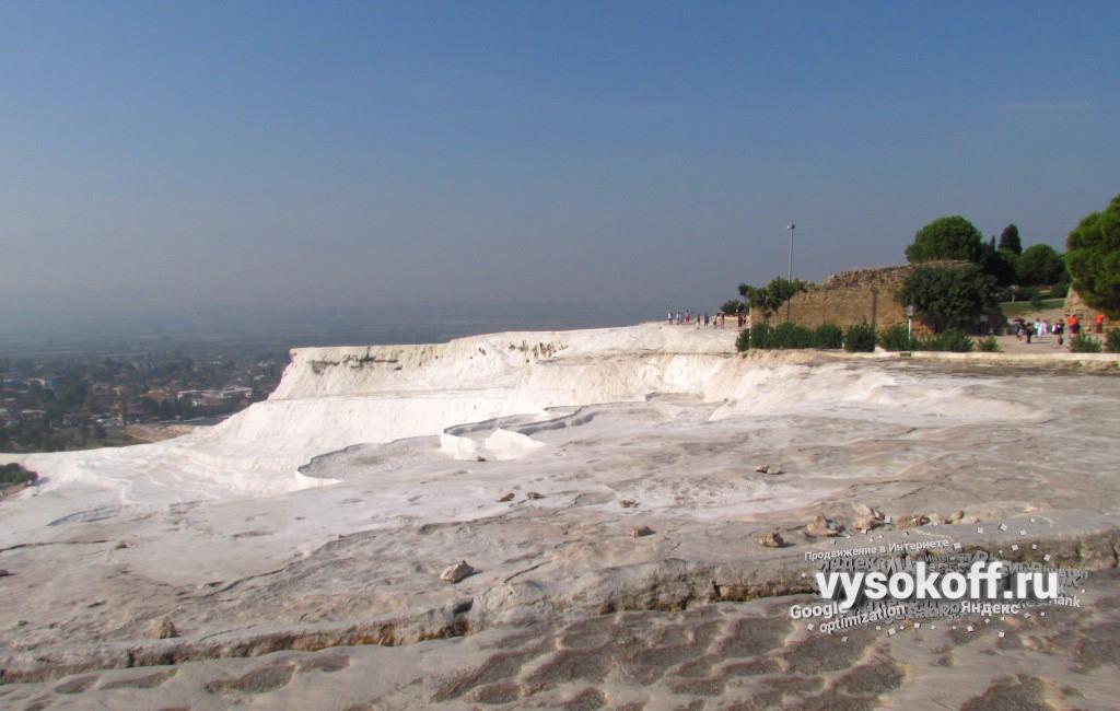 Памукалле: кальциевые горы