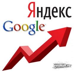 Попасть топ google
