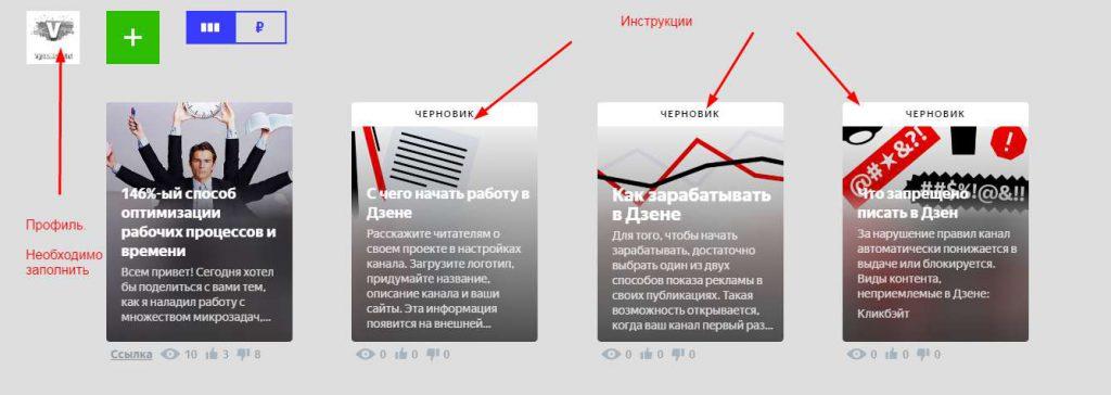 Как создать канал в Яндекс.Дзен?
